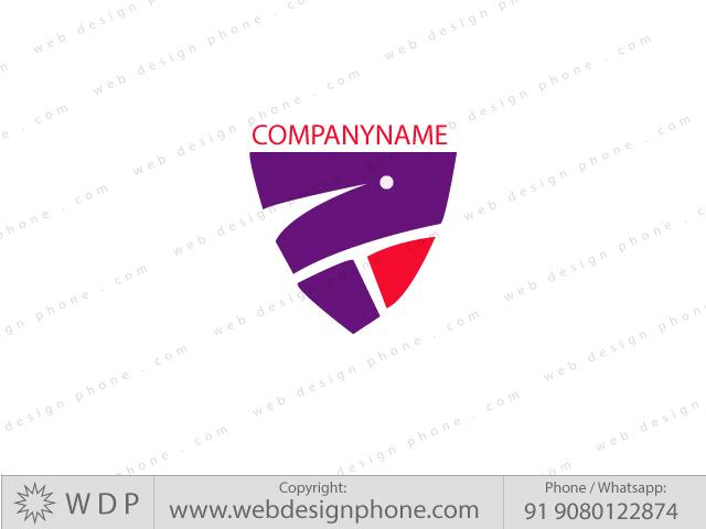 web design phone logo